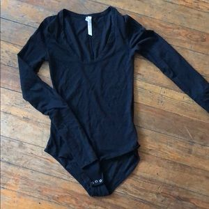 Free people thin body suit